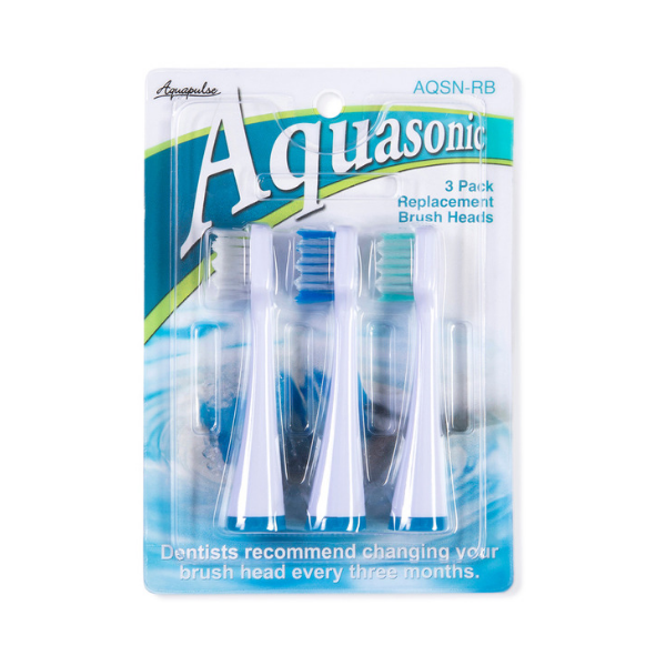 AQSN-RB – Replacement Brush Heads 3 Pack
